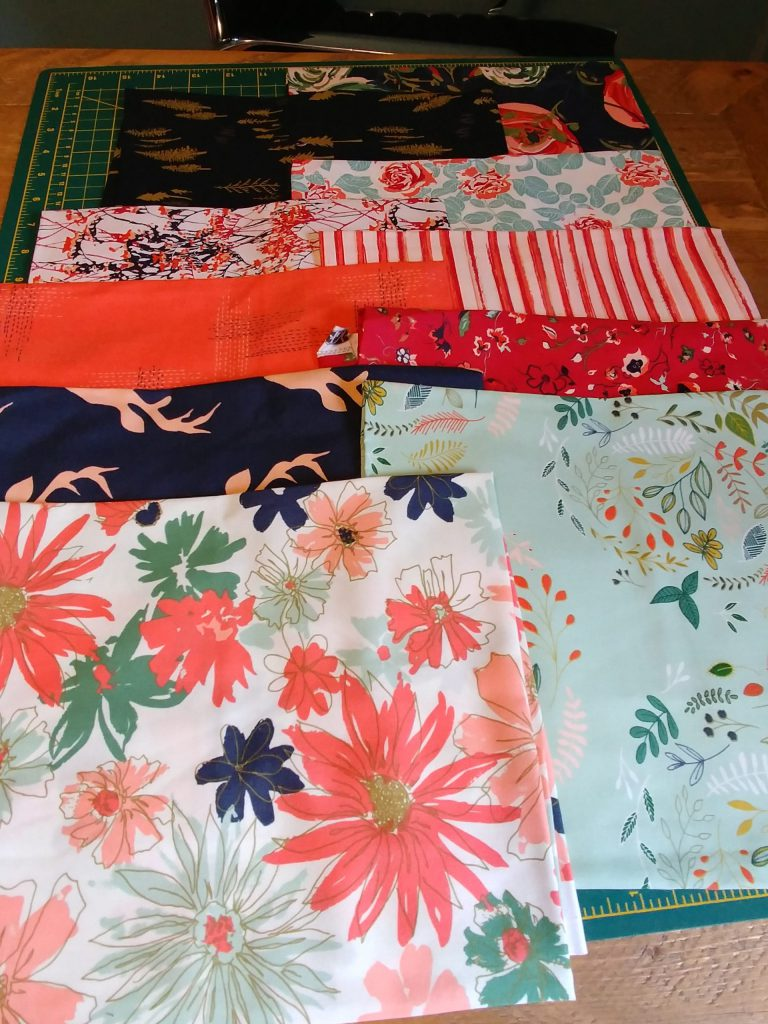 Woodlands Fusion fat quarters
