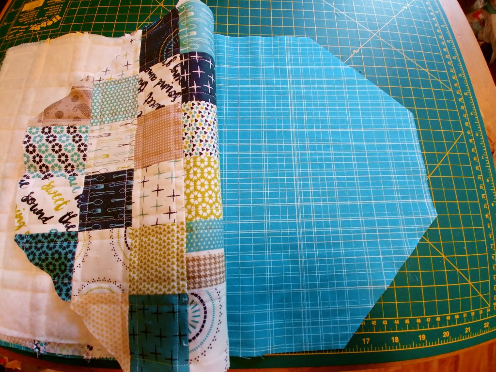 Patchwork Pouch with Lining