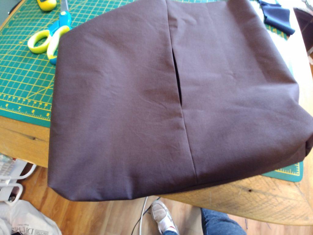 Patchwork bag lining
