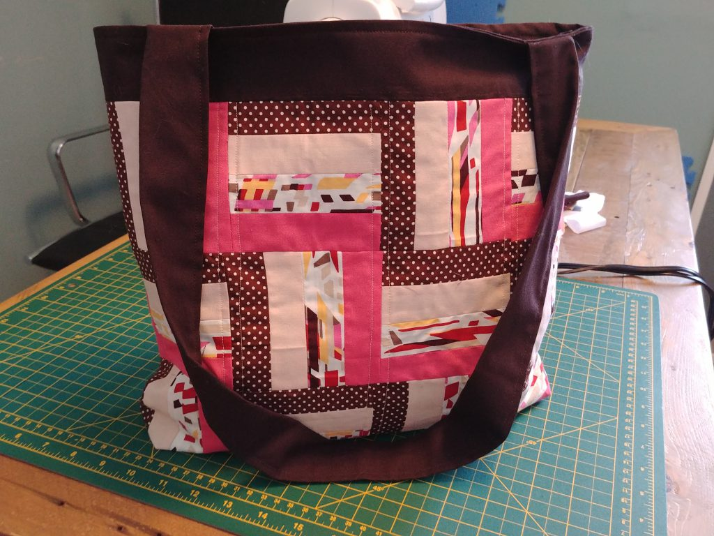 Patchwork bag finished