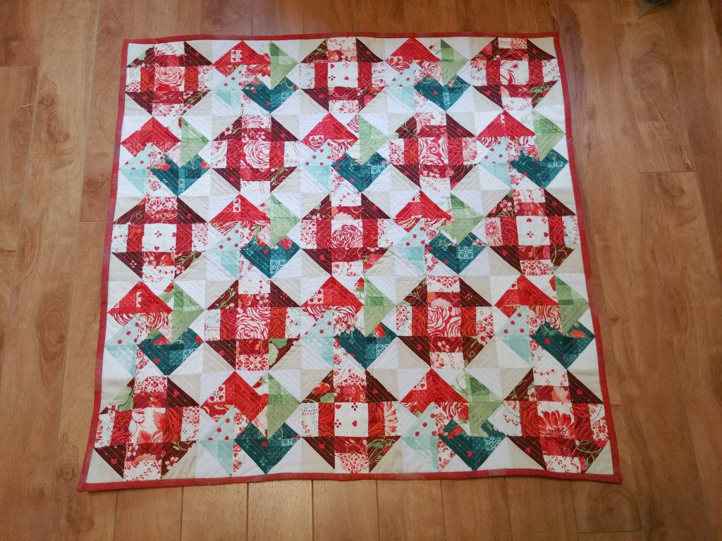 Sugar Berry Quilt Finished