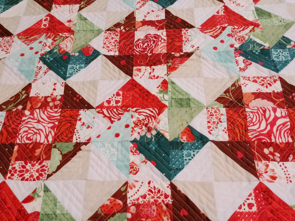 Sugar Berry Quilt Quilting