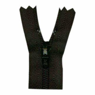 """9"""" Black Zipper"""