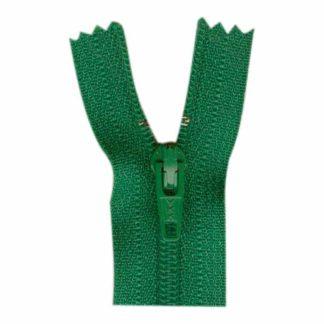 """9"""" Emerald Green Zipper"""