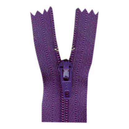 """9"""" Purple Zipper"""