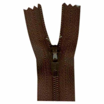 "9"" Sept Brown Zipper"