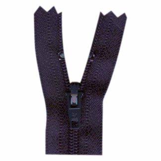 "9"" Navy Zipper"